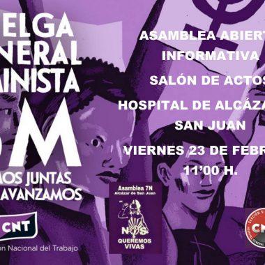 ALCÁZAR DE SAN JUAN – 23 DE FEBRERO – 11:00h.
