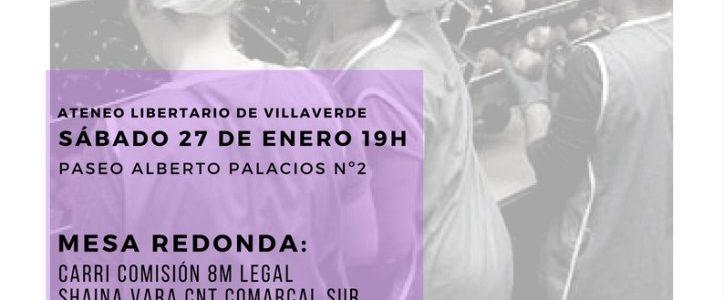 VILLAVERDE – 27 DE ENERO – 19:00 h.