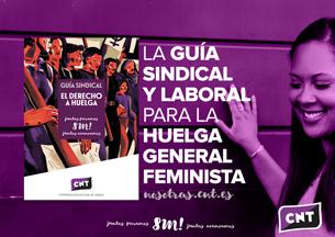 Guía 8M, huelga general feminista