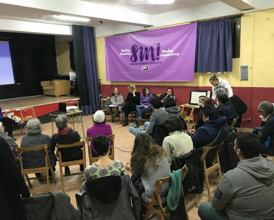 8 de marzo: DÍA INTERNACIONAL DE LA MUJER TRABAJADORA,  DÍA DE HUELGA GENERAL FEMINISTA EN CUATRO CAMPOS