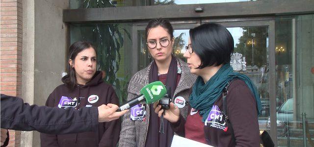 RUEDA DE PRENSA: CNT CONVOCA HUELGA GENERAL FEMINISTA 8M
