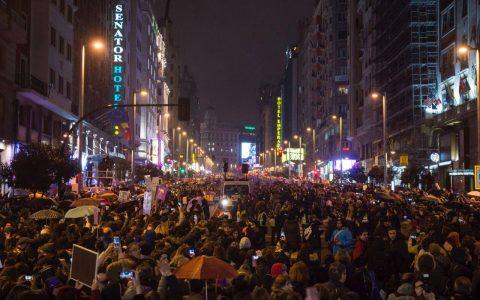 Éxito rotundo de la huelga general feminista del 8 de marzo
