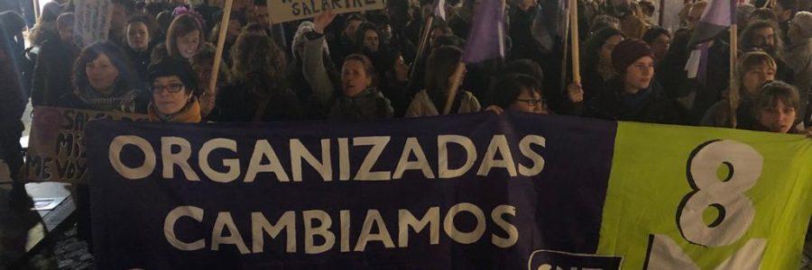 Se consolida el éxito de la huelga general feminista
